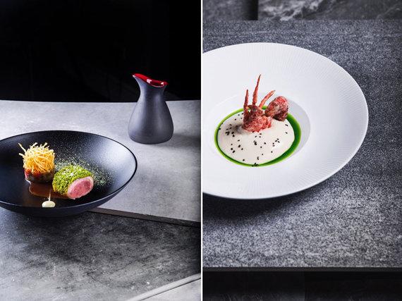 """Restorano archyvo nuotr./Restorano """"Gastronomika"""" patiekalai"""