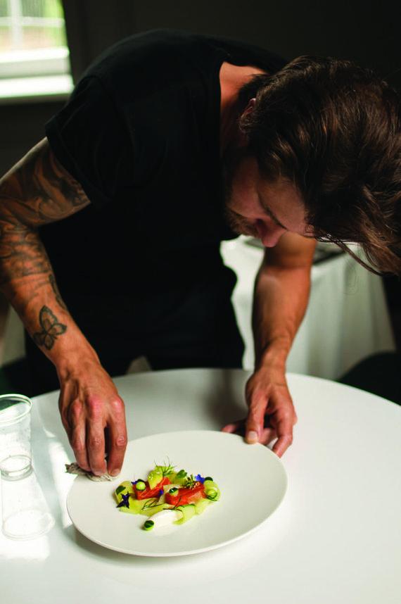 Restorano archyvo nuotr./Martynas kūrybiniame procese