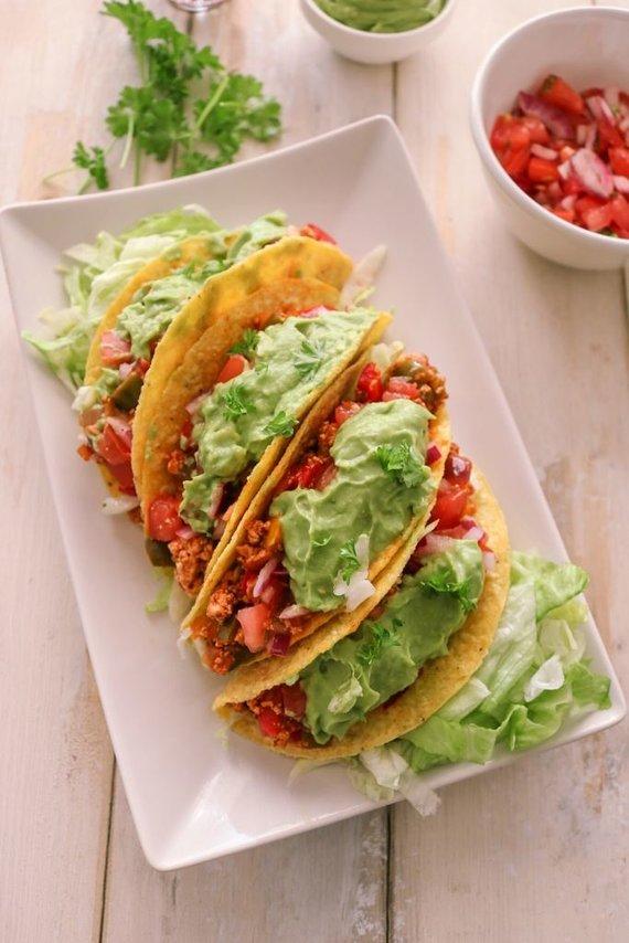 Tinklaraščio archyvo nuotr. /Meksikietiški tacos su tofu ir gvakamole