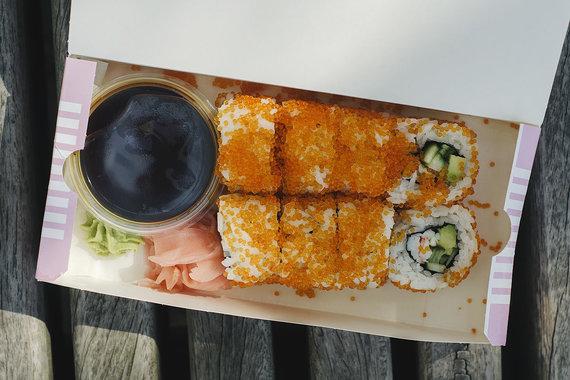 "Strelkabelka nuotr. /""Sushi Stop"" sušiai"
