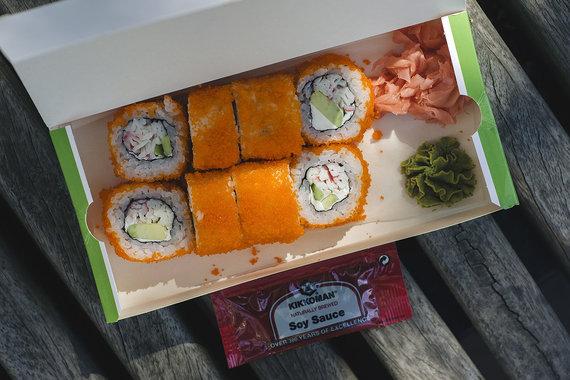 "Strelkabelka nuotr. /""Sushi Express"" sušiai"