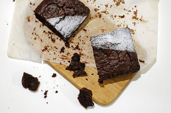 Miskozverys.lt nuotr./Šokoladinis cukinijų keksas