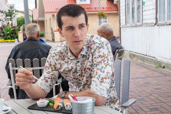"""Restorano archyvo nuotr./Kavinė """"Sušinė"""" Birštone"""