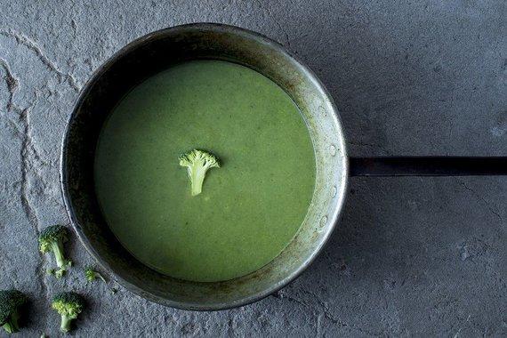 TV3 nuotr./Trinta brokolių ir špinatų sriuba