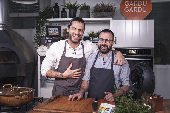 TV3 nuotr./Ali Gadžijevas ir Gian Luca Demarco