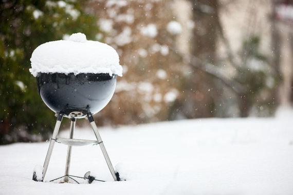 Vida Press nuotr./Už lango spaudžiant sausio šaltukui – tinkamas laikas prisiminti maltos mėsos kepsniukų skonį grilyje