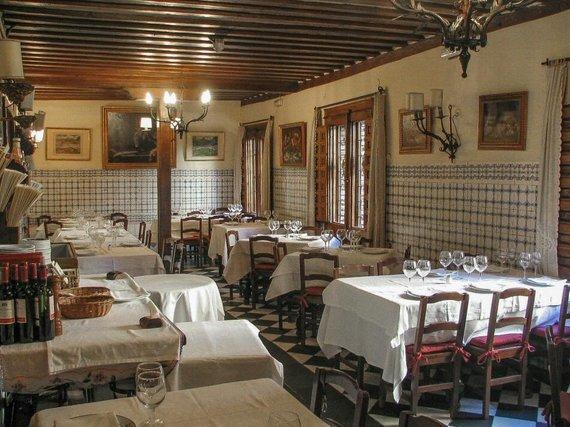 """Botin.es nuotr./Restorano """"Sobrino de Botin"""" interjeras"""