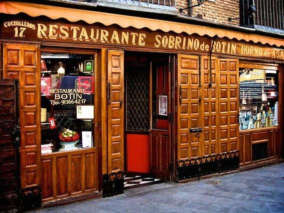 "Botin.es nuotr./""Sobrino de Botin"" restoranas Madride"