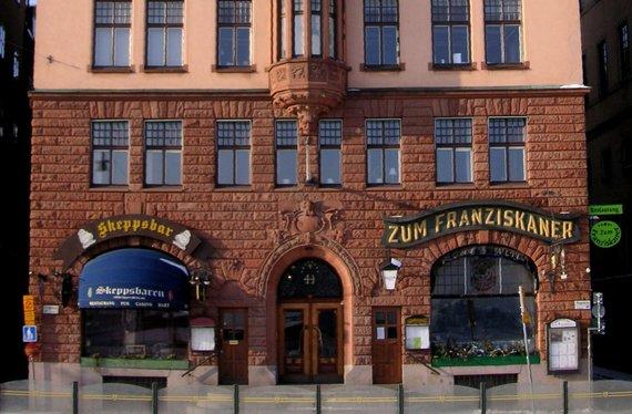 """Zumen.se nuotr./""""Zum Franziskaner"""" restoranas Stokholme"""
