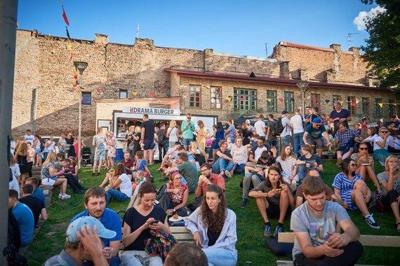 "Organizatorių archyvo nuotr. /""Vilnius Burger Fest"" akimirka"