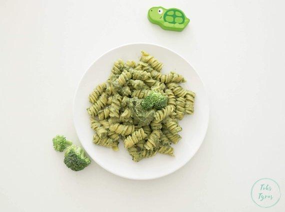 Tinklaraščio archyvo nuotr./Makaronai su brokolių pesto