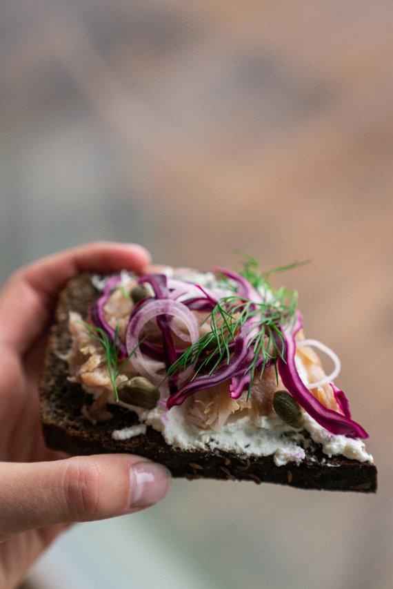 Gamintojo nuotr. /Skandinavijos įkvėptas sumuštinis