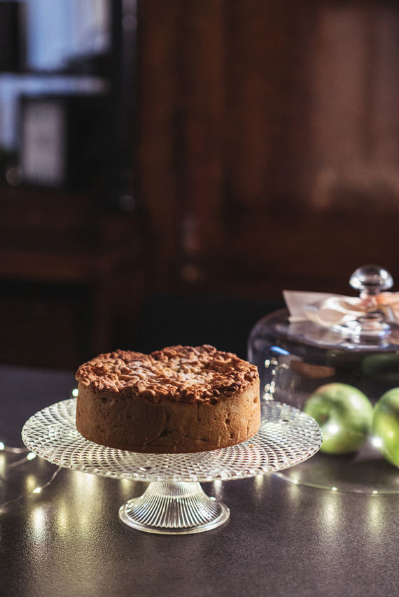 Gamintojo nuotr. /Obuolių pyragas su speltų miltais