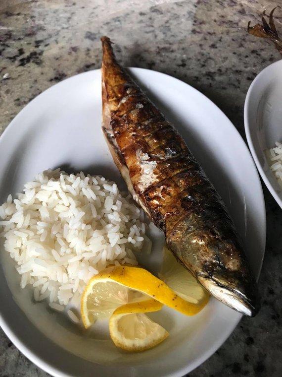 Restorano archyvo nuotr. /Žuvies patiekalas