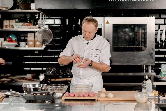 TV3 nuotr. /Tomas Rimvydis gamina cepelinus