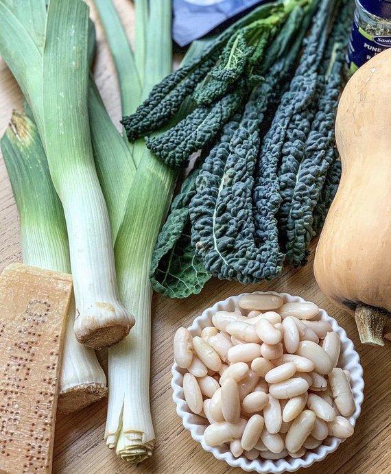 Autorės nuotr./Sriubos ingredientai