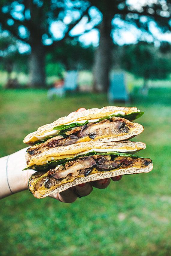 Gamintojo nuotr. /Viduržemio jūros regiono sumuštinis