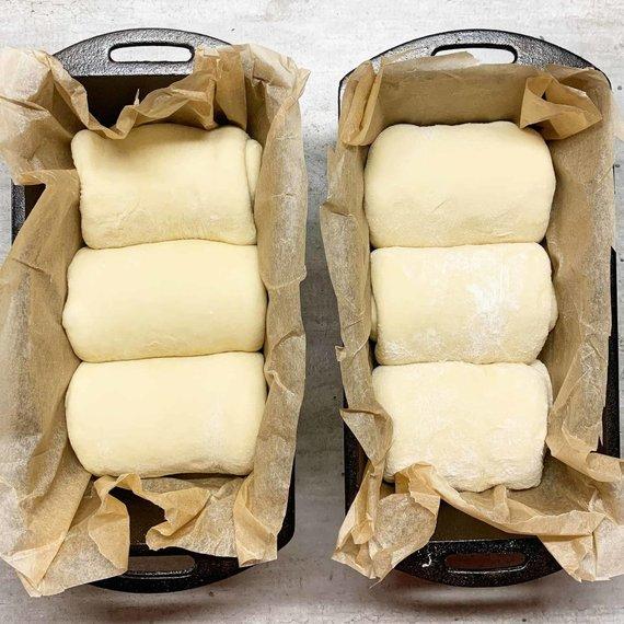 Tinklaraštininkės nuotr. /Suformuota Hokkaido duona
