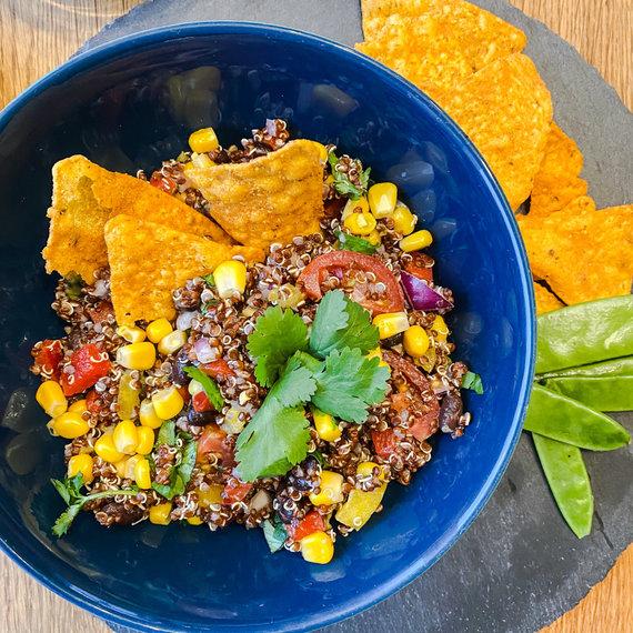 Tinklaraštininkės nuotr. /Meksikietiškos salotos