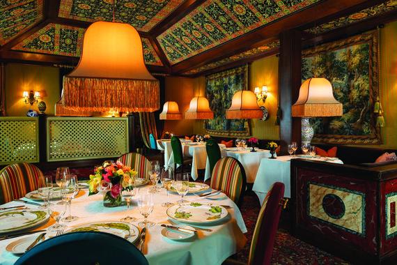 """Restorano archyvo nuotr. /""""Inn at Little Washington"""" interjeras"""