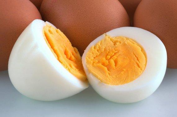 Vida Press nuotr./Virtas kiaušinis tvirtu tryniu