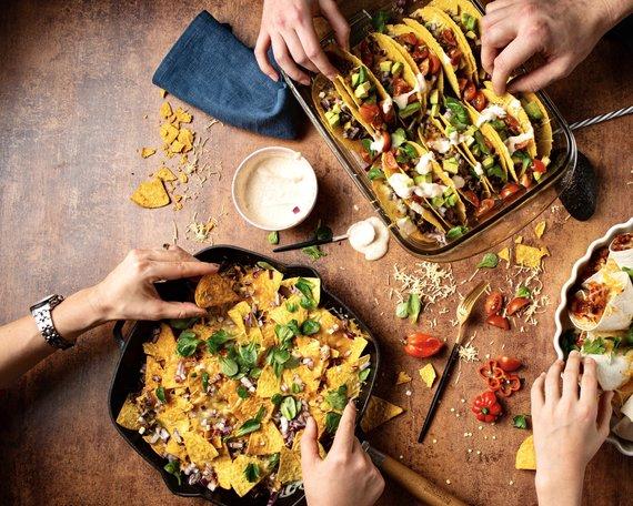Tinklaraštininkų nuotr./Meksikietiškų patiekalų fiesta