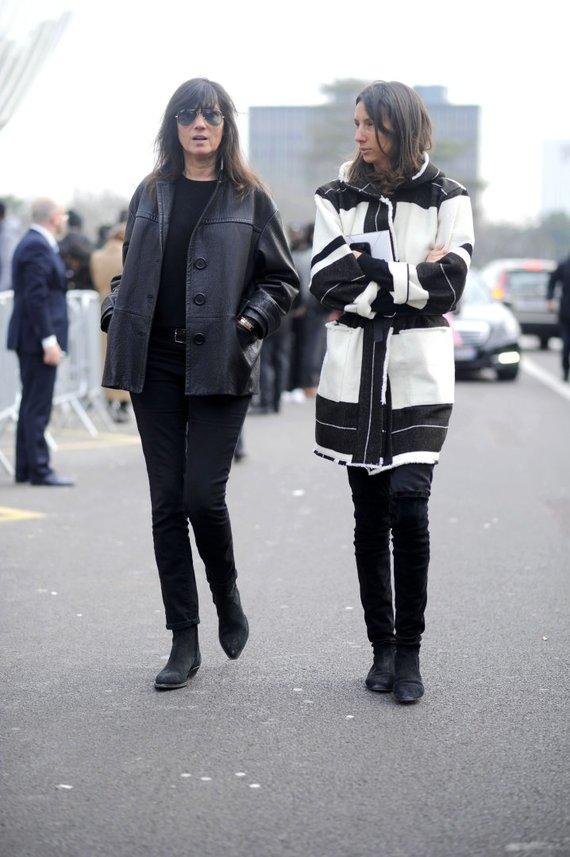 Vida Press nuotr./Geraldine Saglio ir Emmanuelle Alt