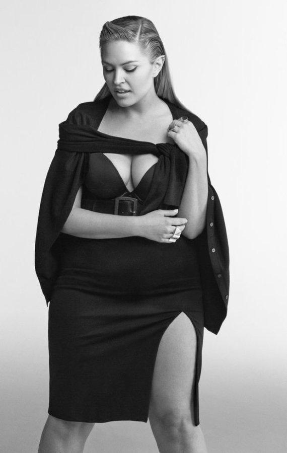 """""""Lane Bryant"""" nuotr./""""Lane Bryant"""" 2016 m. rudens reklaminės kampanijos nuotrauka"""