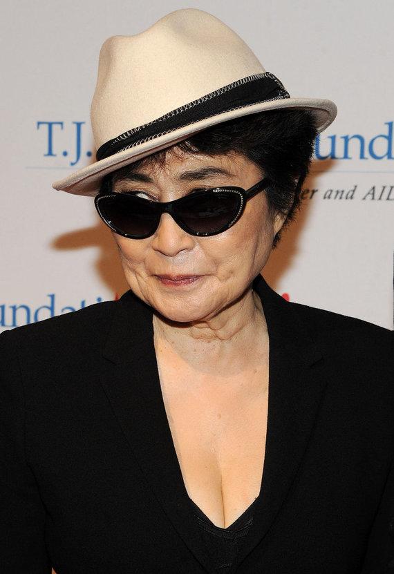 Vida Press nuotr./Yoko Ono