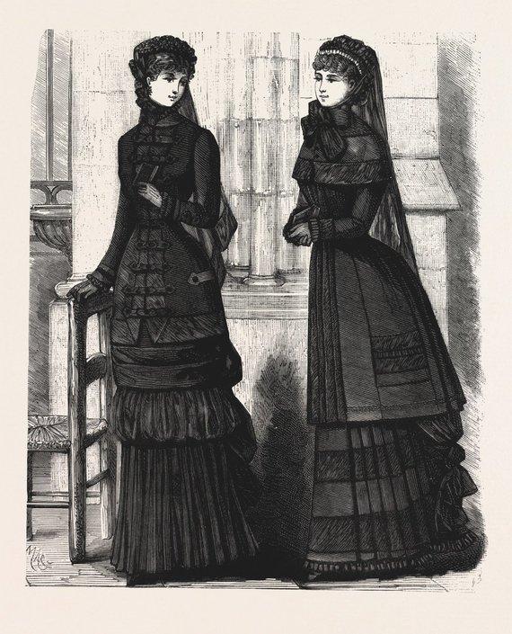 Vida Press nuotr./1882 m. gedinčių moterų tualetai