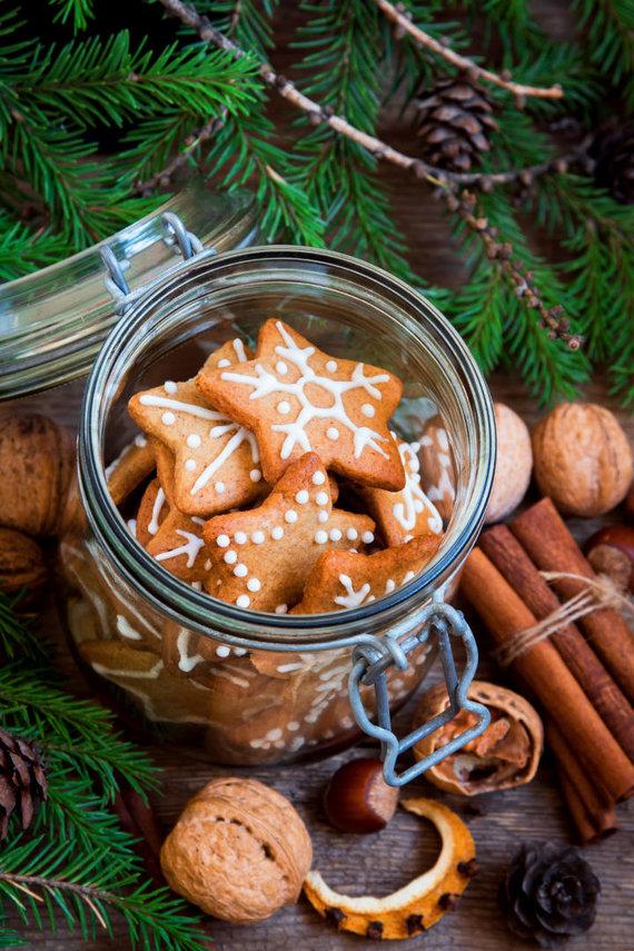 Vida Press nuotr./Naminiai sausainiai stiklainėlyje