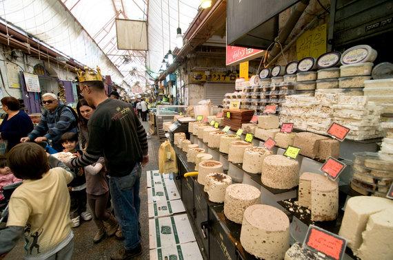 Vida Press nuotr./Chalvos pasirinkimas Jeruzalės turguje