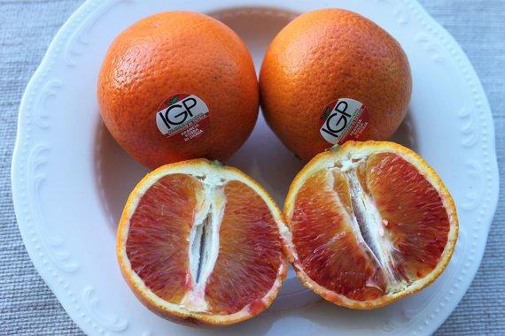 Jurgos Jurkevičienės nuotr. /Tarocco violetiniai apelsinai