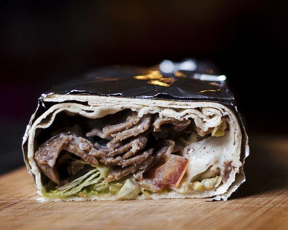 "Strelkabelka nuotr./""Tarbushi bistro"" kebabas"