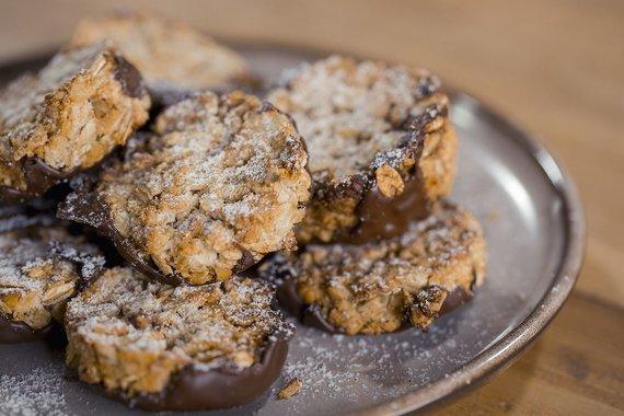 TV3 nuotr. /Sveikuoliški sausainiai su šokoladu