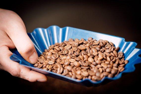 """""""Huracán Coffee"""" nuotr./Kavos pupelės"""