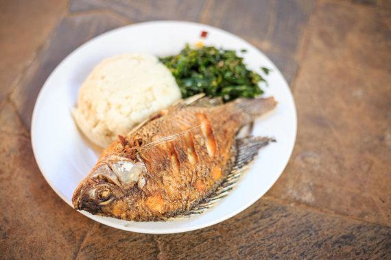 Vida Press nuotr./Žuvis su priedais