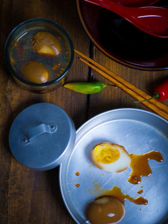 Nidos Degutienės nuotr. /Marinuoti kiaušiniai