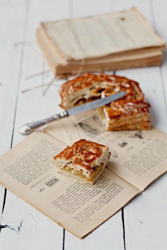 """Kepyklėlės archyvo nuotr./Kepyklėlės """"Boulangery"""" sluoksniuotos tešlos pyragas"""