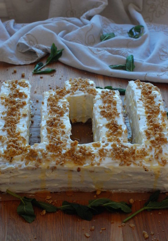 """Asmeninio albumo nuotr./Medaus tortas """"Mėtų aromate ir gintarų blizgėjime"""""""