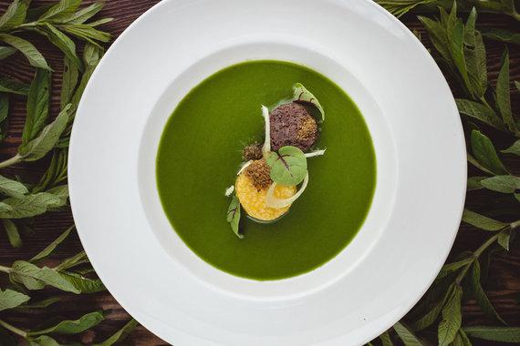 """Restorano archyvo nuotr./Restorano """"Ertlio namas"""" patiekalas"""