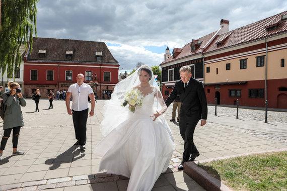 Eriko Ovčarenko / 15min nuotr./Gabrielė Rutkauskienė ir Artūras Butkevičius