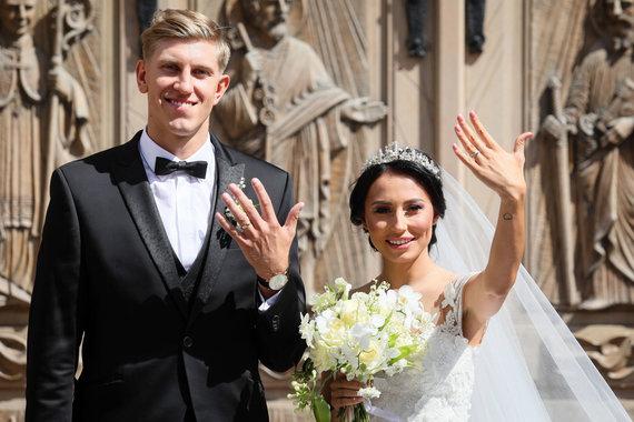 Eriko Ovčarenko / 15min nuotr./Gabrielės ir Ronaldo Rutkauskų vestuvės