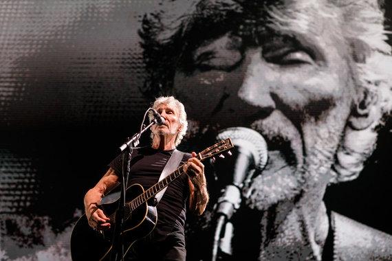 Eriko Ovčarenko / 15min nuotr./Roger Waters koncerto akimirkos