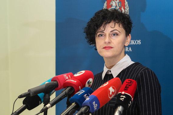Eriko Ovčarenko / 15min nuotr./Prokurorė Daiva Brudnienė