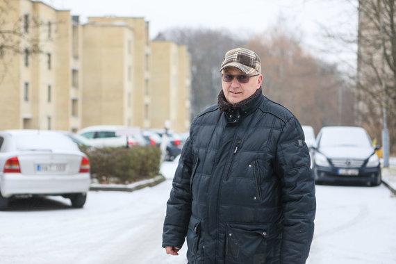 Eriko Ovčarenko / 15min nuotr./Akademijos seniūnijos seniūnaitis Dainius Šeronas