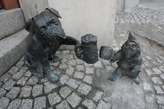 Eriko Ovčarenko / 15min nuotr./Skulptūros Vroclave