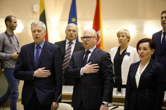 Eriko Ovčarenko / 15min nuotr./Kaune darbą pradėjo naujoji taryba