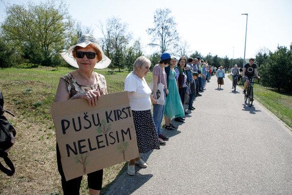 Photo: Erin Ovcharenko / 15min / The villagers merged