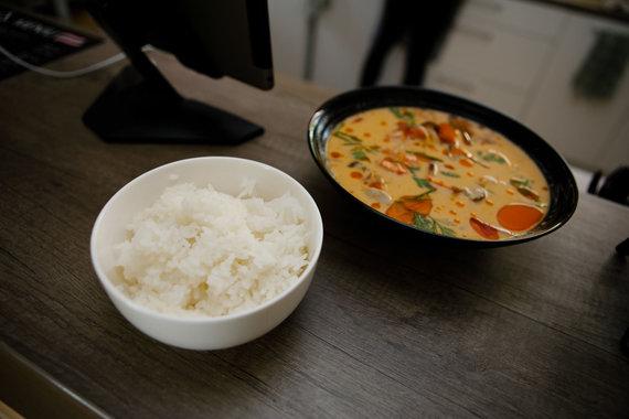 Eriko Ovčarenko / 15min nuotr./Tailandiečių maisto retorane